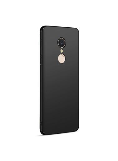 Microsonic Xiaomi Redmi 5 Plus Kılıf Premium Slim Siyah Siyah